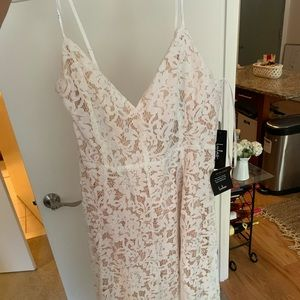 Lulu's Dresses - LULUS white lace dress